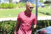 Jamie Foxx Button Down Shirt