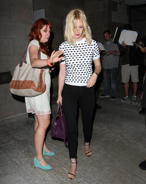 'Mad Men' Ladies Spotted Out in LA
