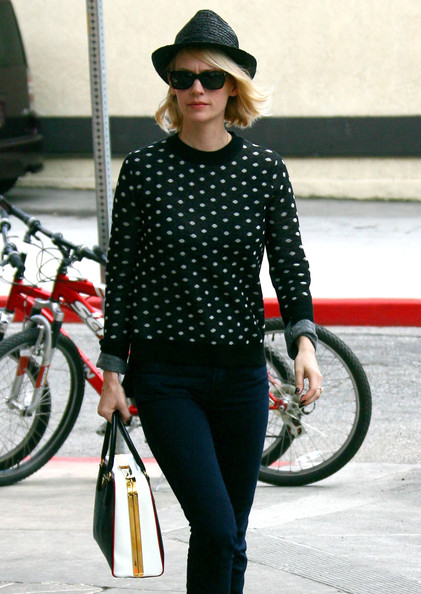 More Pics of January Jones Flat Oxfords (1 of 8) - January Jones Lookbook - StyleBistro