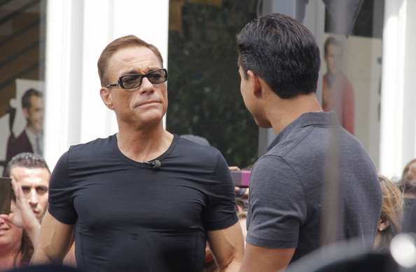 Jean-Claude Van Damme Rectangular Sunglasses