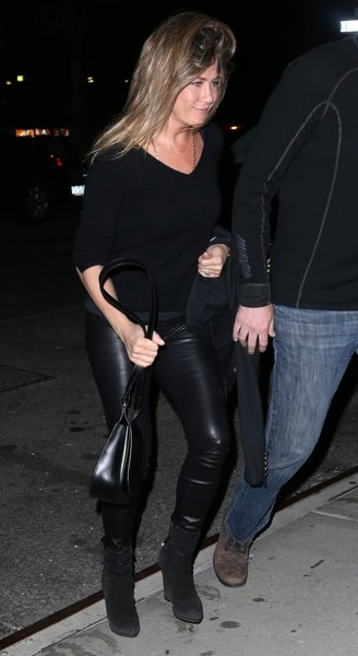 Jennifer Aniston Leather Pants