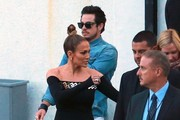 Casper Smart and Jennifer Lopez Photo