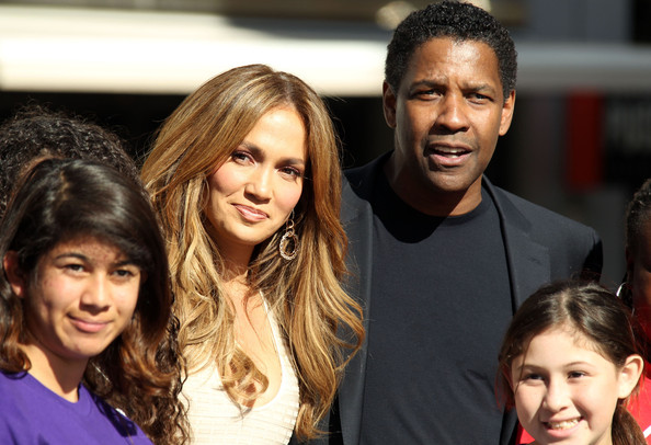 Jennifer Lopez & Denzel Washington Attending Boys And Girls Clubs Of America Announcement 2