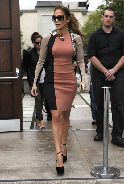 Jennifer Lopez Day Dress