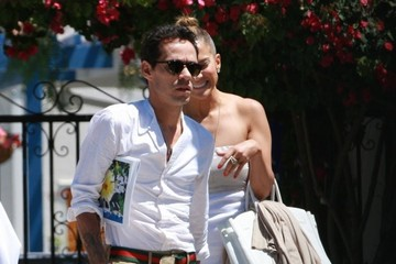 Jennifer Lopez Marc Anthony Jennifer Lopez and Marc Anthony Meet in LA