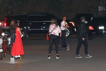 Jessica Alba Cash Warren Celebrities Attend Katy Perry's Halloween/Birthday Party in Hollywood