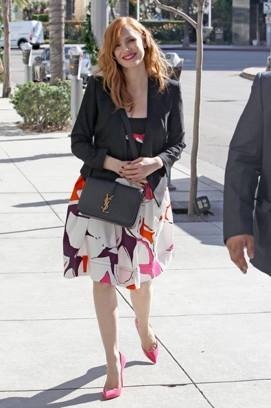 Jessica Chastain Handbags