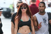 Jessica Sutta Denim Shorts