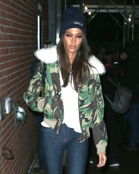 Joan Smalls Knit Beanie