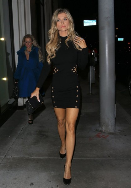 Joanna Krupa Leather Clutch