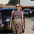 Day: Floral Maxi Dress + Round Sunglasses