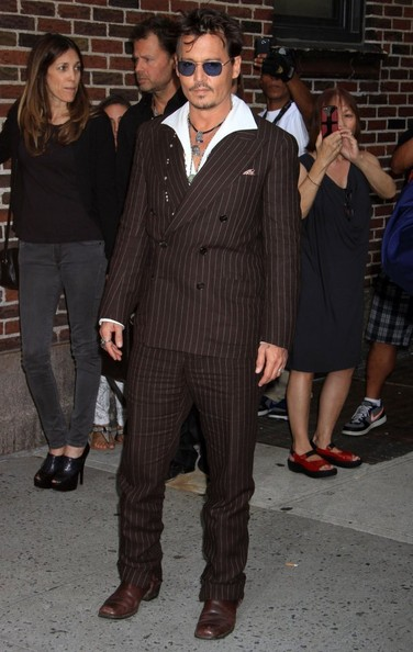 Johnny Depp Men's Suit