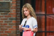 Juno Temple Athletic Top