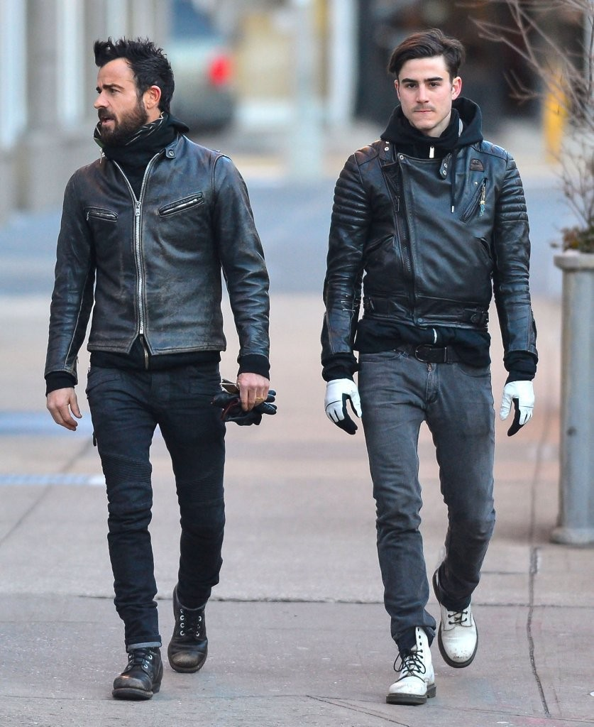 More Pics of Sebastian Theroux Motorcycle Jacket (4 of 7) - Sebastian Theroux Lookbook - StyleBistro