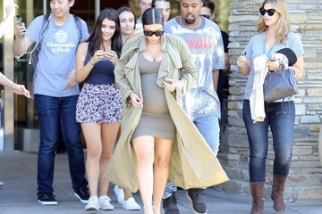 Kanye West Kim Kardashian Pregnant Kim Kardashian & Kanye West Go to the Movies