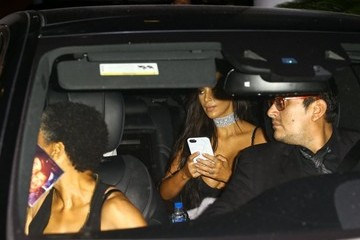 Kanye West Kim Kardashian Kim Kardashian and Kanye West Leave Their Hotel for a Night Out in Miami