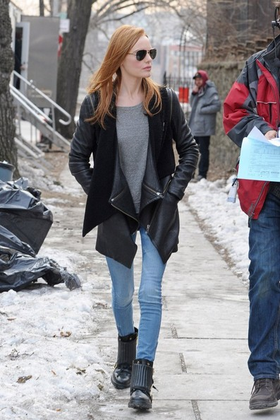 Kate Bosworth Flat Boots