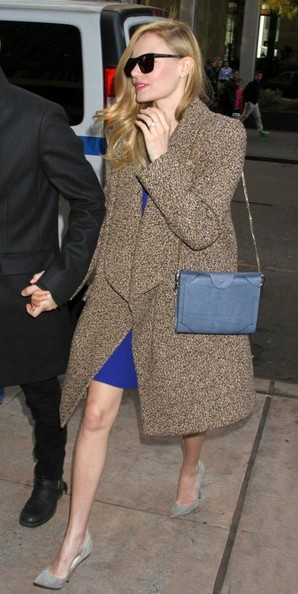 Kate Bosworth Tweed Coat