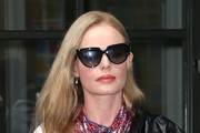Kate Bosworth Patterned Scarf