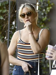 Kate Hudson wore a pair of stylish brown sunnies while out in LA.