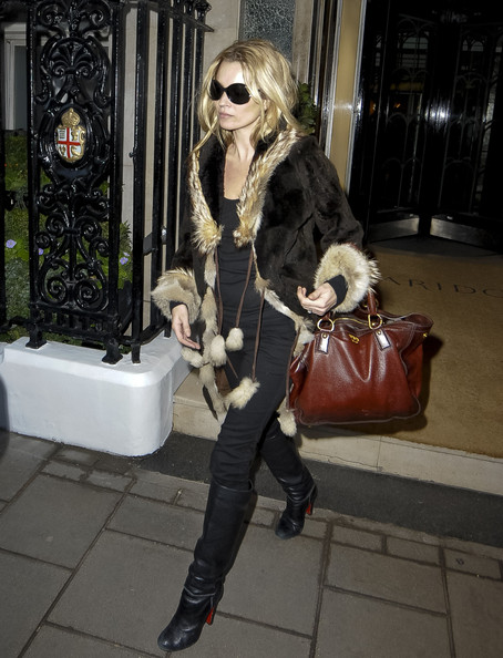 Kate Moss Knee High Boots