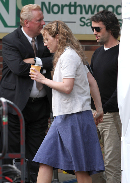 Kate Winslet On The Set Of 'Labor Day'