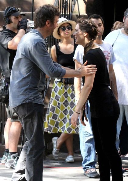 Katharine McPhee and Jack Davenport Film The Hit TV Show 'Smash' In NYC