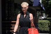 Katherine Heigl Leather Tote