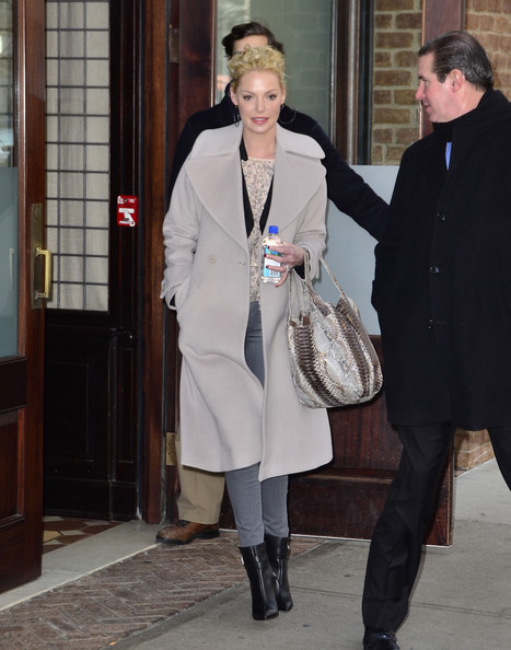 Katherine Heigl Wool Coat