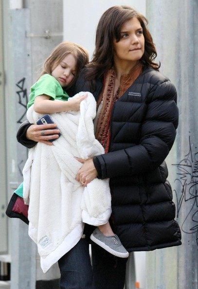 Katie Holmes Layered Cut