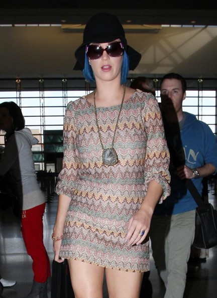 Katy Perry Oversized Sunglasses []