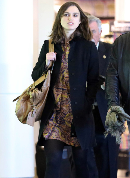 Kiera Knightly Departs From LAX