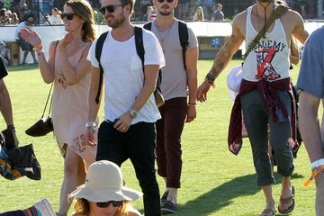 Kellan Lutz Ashley Greene Coachella Music Festival Day 1