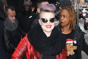 Kelly Osbourne Knit Scarf