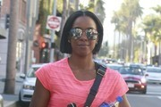 Kelly Rowland Aviator Sunglasses