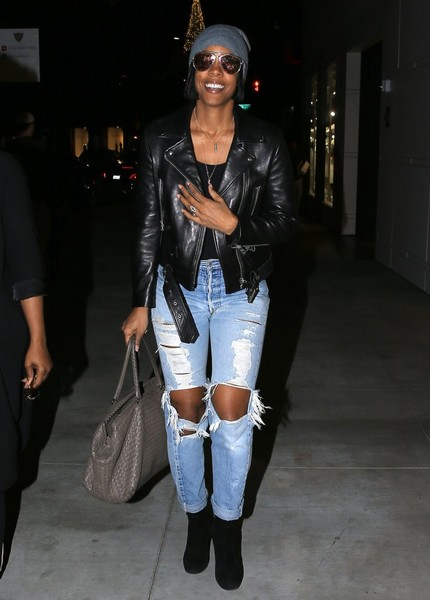 Kelly Rowland Leather Tote