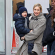 Kelly Rutherford and Hermes Giersch