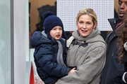 Kelly Rutherford and Hermes Giersch Photo
