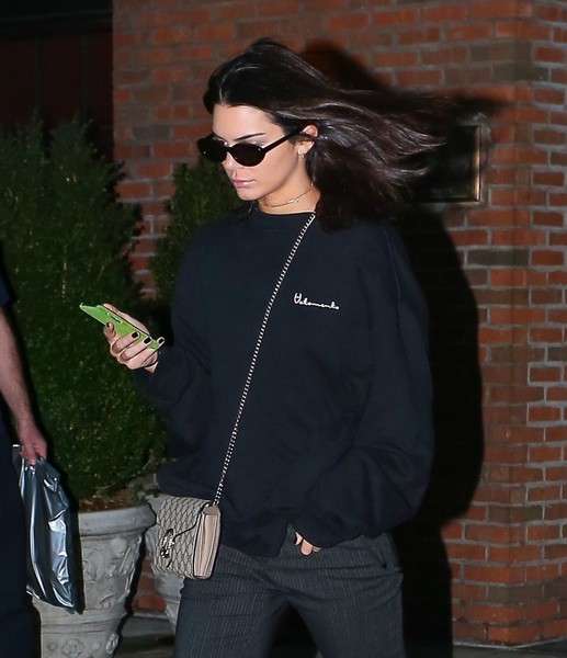 Kendall Jenner Oval Sunglasses