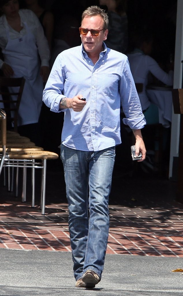 Kiefer Sutherland Clothes Looks Stylebistro