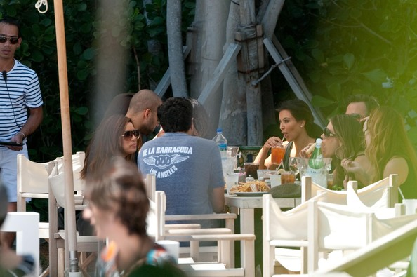 Eva Longoria Parker was seen today celebrating her Birthday with a lunch ...
