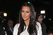 Reality star Kim Kardashian and singer Ciara are spotted on a girl's night out as they leave STK restaurant in Los Angeles.