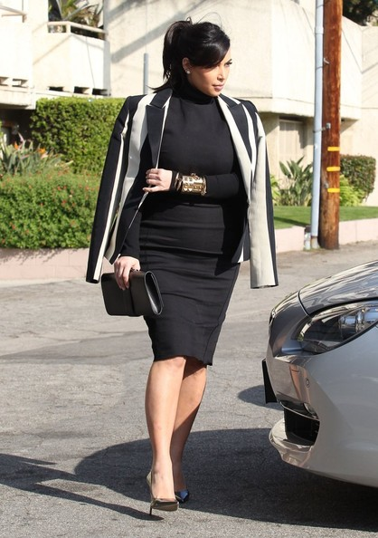 More Pics of Kim Kardashian Blazer (4 of 33) - Kim Kardashian Lookbook - StyleBistro