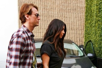Kim Kardashian Jonathan Cheban Kim Kardashian Goes to Epione Cosmetic Laser Center
