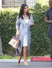 Kim Kardashian's Hermes tote got an artistic makeover courtesy of daughter Nori.