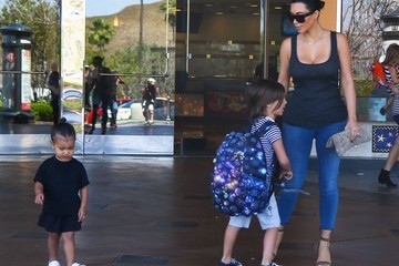 Kim Kardashian Mason Disick Kim Kardashian Takes North To The Movies