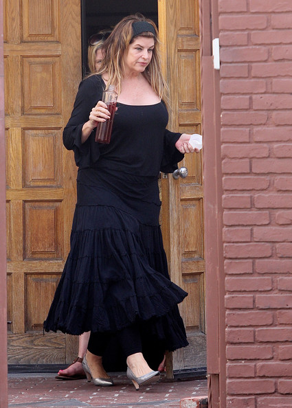 Kirstie Alley Long Skirt