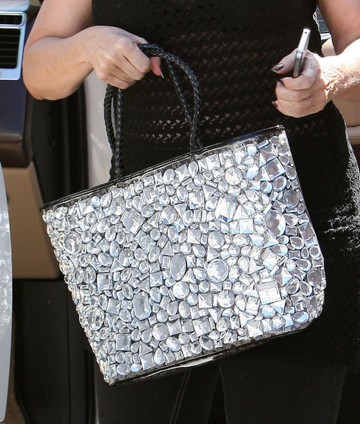 Kirstie Alley Beaded Tote