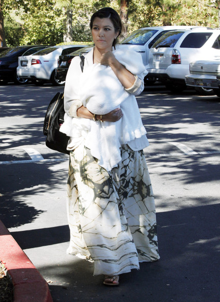 Kourtney Kardashian Maxi Dress