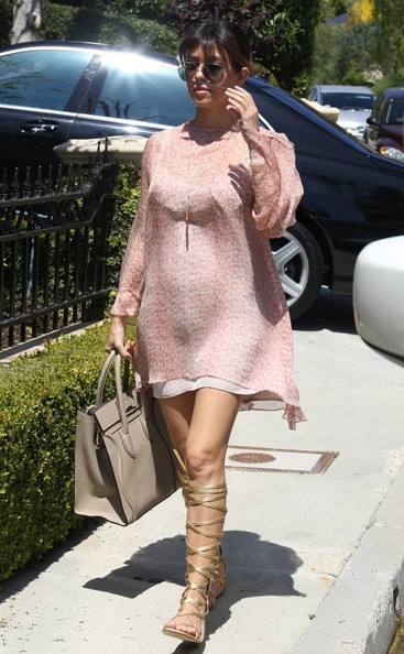 Kourtney Kardashian Gladiator Sandals